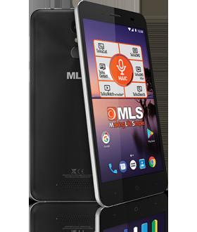 MLS Color Fingerprint 2GB RAM 16GB 4G Μαύρο