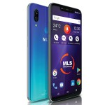 MLS Notch 4GB RAM 64GB 4G Μπλέ