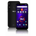 MLS Notch Lite 2GB RAM 16GB 4G Μαύρο