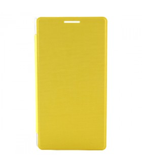iNew V7 Protective Flip Cover Case Yellow