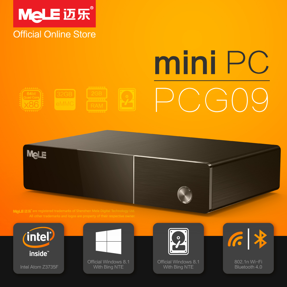 Minya.gr - Mele PCG09 Intel Mini PC Windows