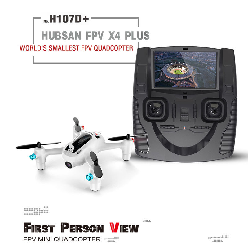 Minya.gr - Hubsan X4 H107D Plus FPV RC Quad copter With Camera