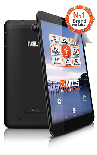 "Minya.gr - MLS Royal 8"" 4-Core 3GB RAM 16GB 4G"