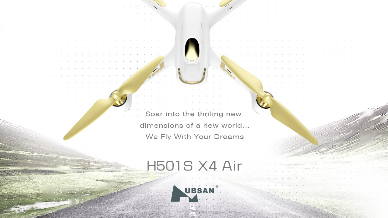 Minya.gr. Hubsan H501S High Edition 1