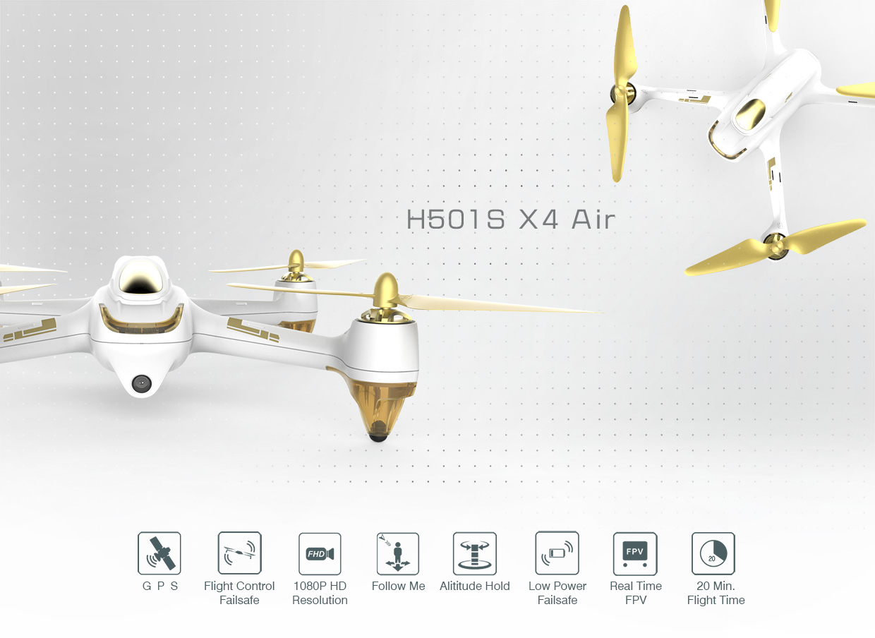 Minya.gr. Hubsan H501S High Edition 2