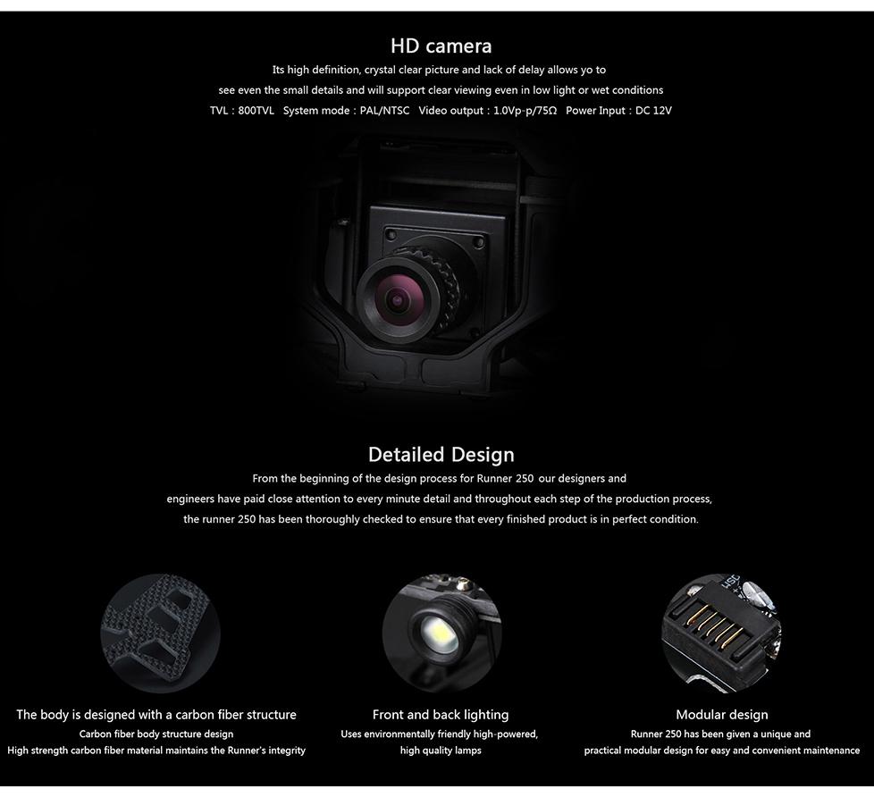 Minya.gr - Walkera Runner 250 Z24 HD Mini Camera
